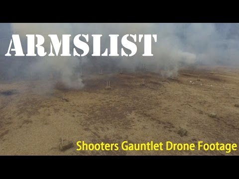 Quad Copter Footage from Shooters Gauntlet