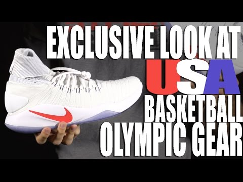 Get an Exclusive Look at USA Basketball's Nike Olympic Gear