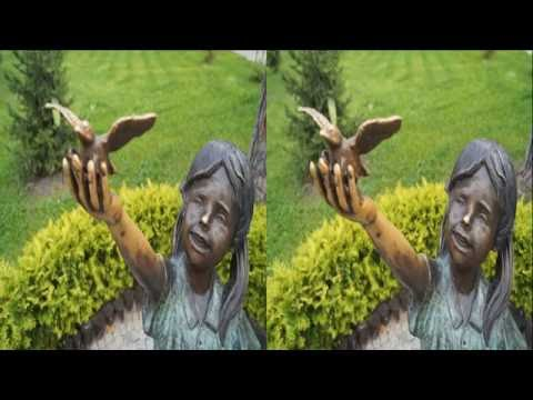 World of Bronze Sculptures in 3D !Metal revived ( PART 2 ). BEST 3D Photo