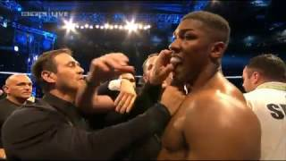 Klitschko vs Joshua WM-Kampf KO in Round 11  (HD)