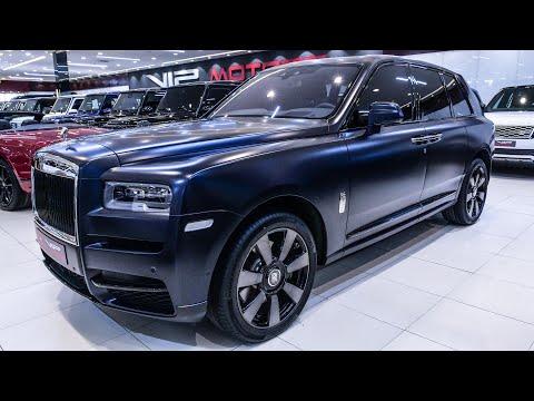 YIL Model Matte Rolls-Royce Cullinan – Gorgeous Luxury SUV! Teknik ve Özellikleri