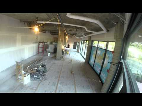 Time Lapse of the building of Growlies new store 2014