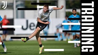 TRAINING ON THE FIELD WITH CHIERI | KEAN SCORES A BRACE | JUVENTUS