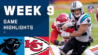 Panthers vs. Chiefs Week 9 Highlights | NFL 2020