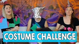 COSTUME CHALLENGE 2015 w/ HANNAH HART & MAMRIE HART // Grace Helbig