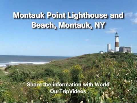Pictures of Montauk Point Lighthouse and Beach, Montauk, NY, US