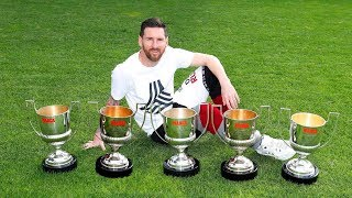 11 UN-BREAKABLE Records That Make Lionel Messi The OFFICIAL GOAT of Football #D10S   HD  