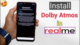 How to Install Dolby Digital Atmos in All RealMe Devices (Better Music Experience)