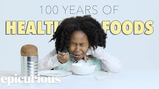 Kids Try 100 Years of Health Foods | Bon Appetit