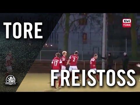 Freistoßtor von Fatih Alkilic (VfB Hermsdorf)| SPREEKICK.TV