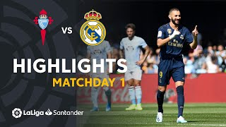 Highlights RC Celta vs Real Madrid (1-3)