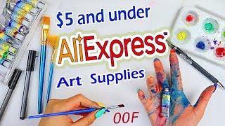 A BIG OOF... Trying AliExpress Art Supplies