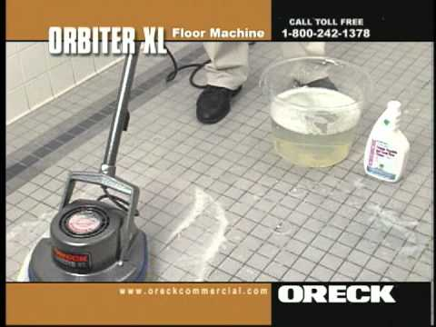 Oreck Commercial Orbiter Floor Machine Porcelain Ceramic