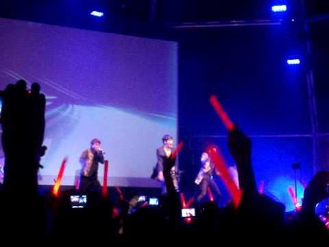 JYJ - Be the one - Barcelona - Spain (29/10/11)