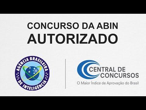 O concurso da ABIN foi autorizado!