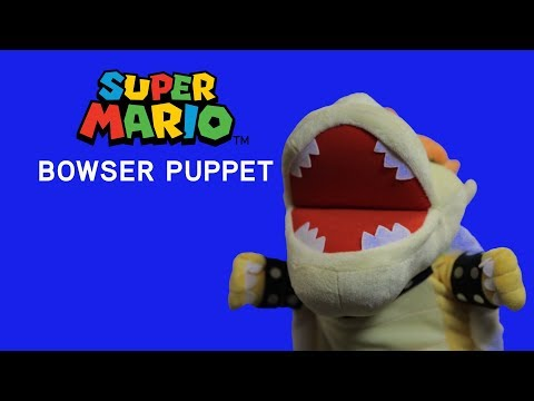 Super Mario Bowser Puppet - Exclusive from ThinkGeek