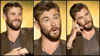 Chris Hemsworth On The Pain Behind THOR'S Ragnarok BODY + That Special Marvel Moment