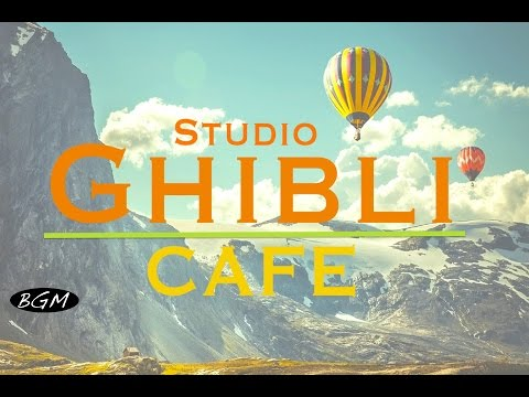 #GhibliJazz #CafeMusic - Relaxing Jazz & Bossa Nova Music - Studio Ghibli Cover
