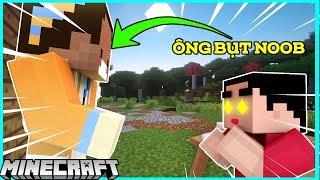 Khi Noob Troll Shin Bằng Ông Bụt Trong Minecraft !!!