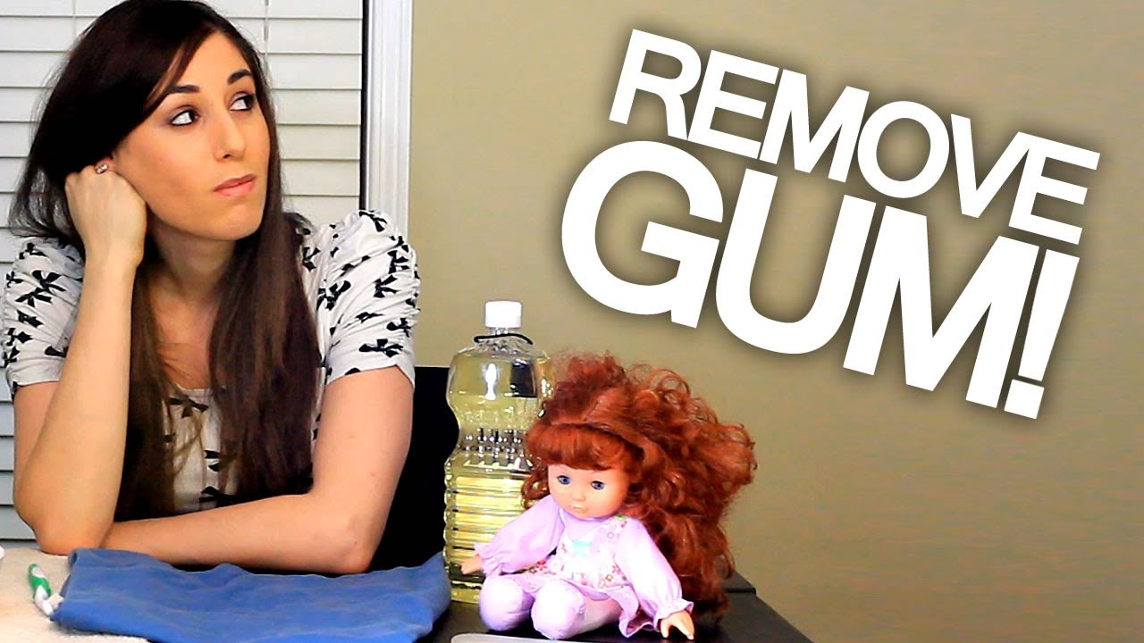 how to remove gum from hair how to remove gum from hair clothing carpet and 7792