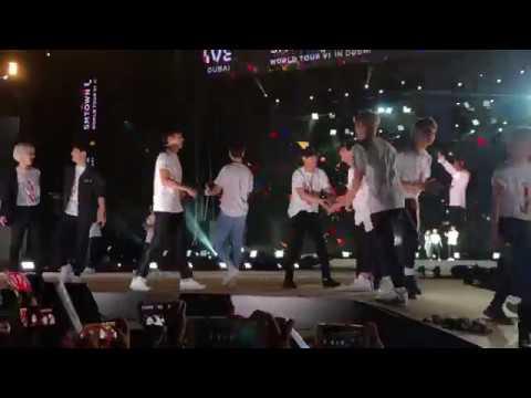 180406 SMTOWN Concert@Dubai TVXQ/Super Junior/SHINee/EXO/Red Velvet/f(x)/SNSD/Henry- Hope
