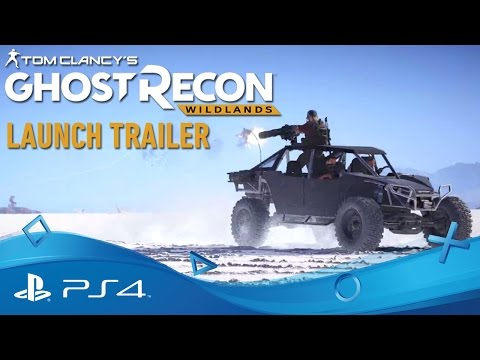 Tom Clancy's Ghost Recon: Wildlands | Trailer Κυκλοφορίας | PS4