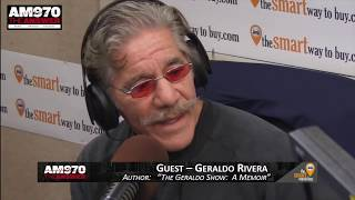 Geraldo Rivera - Interview - Piscopo In The Morning 3-27-18 AM 970 The Answer