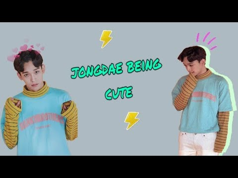 5 Minutes of Jongdae being cute
