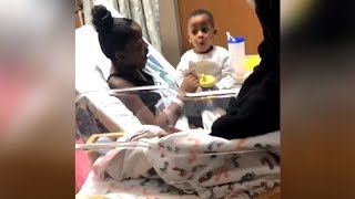 Adorable Little Boy's Over The Top Reaction To New Baby Sister Has Millions Melting