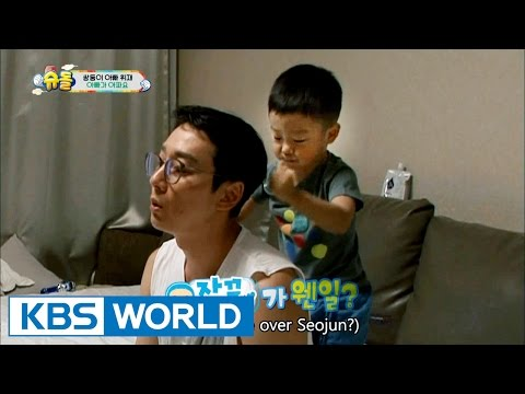 Twins' House - Hwijae Dad is sick [The Return of Superman / 2016.09.25]