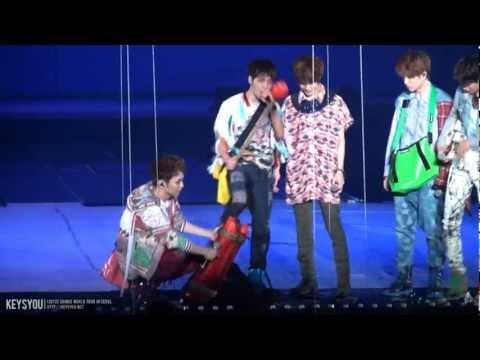 120722 swc in seoul 샤이니 서울 콘서트 옐로우리본 키