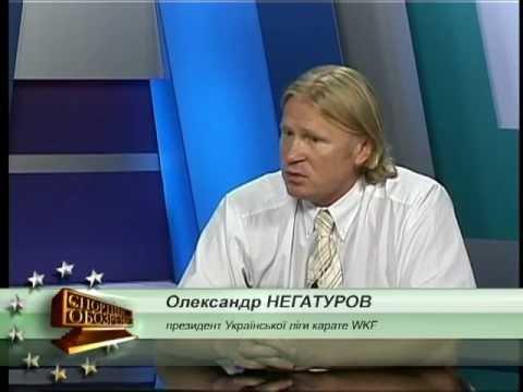 Александр Негатуров - интервью в студии