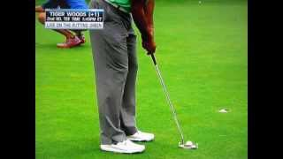 Tiger Woods - Definitive Putting Warmup Routine - Analysis by Notah Begay