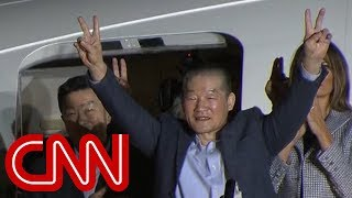 Trump welcomes Americans home from North Korea