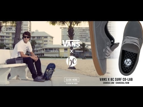 Vans x BC Surf Co-Lab: Chukka Low Skate Shoe