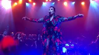 Demi Lovato - Tell Me You Love Me LIVE @ Simply Complicated World Premiere in LA (10/11/17)