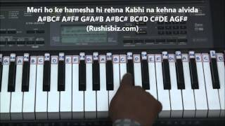 Janam Janam Piano Tutorials - Dilwale Movie