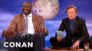 "Shaquille O'Neal Is Retiring The Name ""Shaq"" - CONAN on TBS"