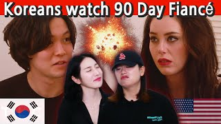 Koreans react to 90 Day Fiancé: The other way (Jihoon and Deavan)