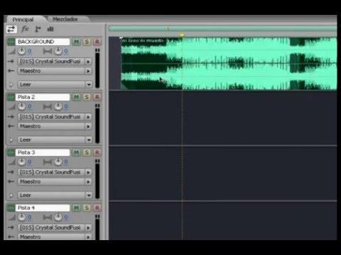 Como Grabar ( multipista) con Adobe Audition 2.0