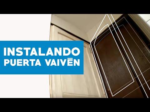 191 C 243 Mo Instalar Una Puerta De Vaiv 233 N Youtube