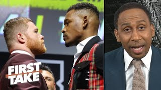Canelo Alvarez will beat Daniel Jacobs with counterpunches - Stephen A. | First Take