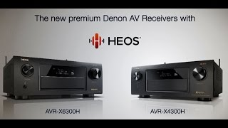 AVR-X4300H | Powerful 9 channel Network AV receiver with
