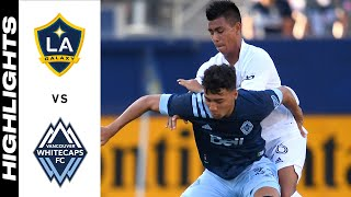 HIGHLIGHTS: LA Galaxy vs. Vancouver Whitecaps FC | August 08, 2021