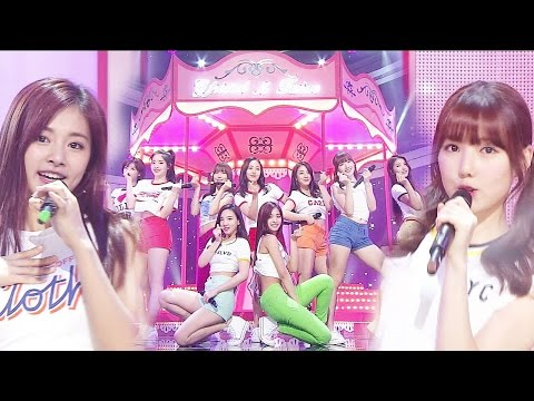 《Special Stage》 GFRIEND & TWICE(여자친구 & 트와이스) - Gee @인기가요 Inkigayo 20160313