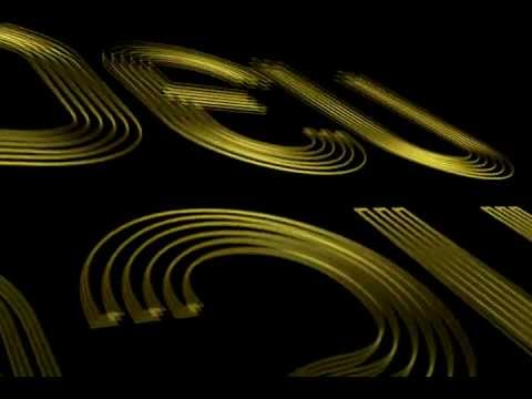 Brushed Golden Title Animation 2
