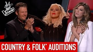 The Voice | Amazing Country & Folk 'Blind Auditions'