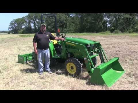 John Deere 3000E Series Oil Checks