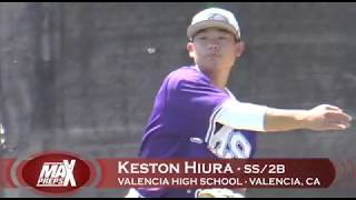 Keston Hiura - Valencia HS Highlights (Future Milwaukee Brewer)