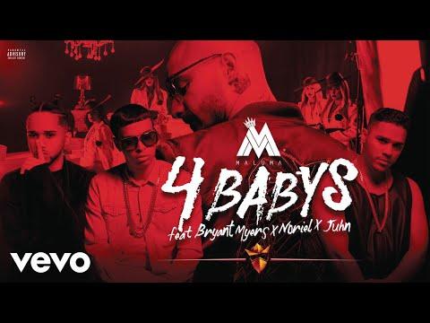 Maluma - Cuatro Babys (Cover Audio) ft. Noriel, Bryant Myers, Juhn